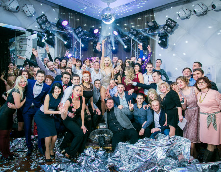New Year Corporate Party «Intercerama»